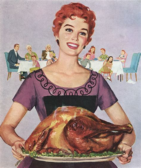 retro thanksgiving your guide to a pleasant and politics free thanksgiving with your family real simple