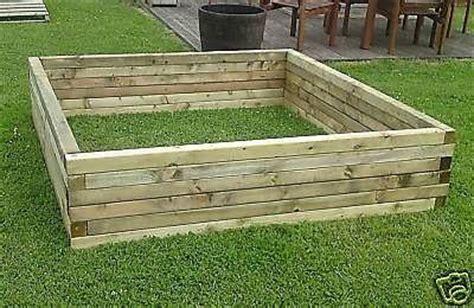 large versatile wood garden pond raised bed planter