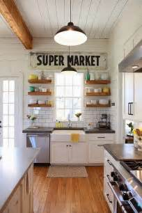 kitchen open shelves ideas 40 elements to utilize when creating a farmhouse kitchen