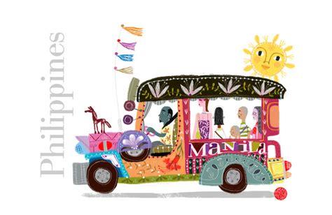 philippines jeepney drawing philippine jeepney art print by robert alejandro society6