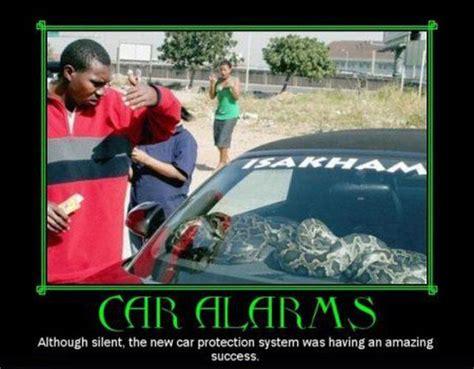 car humor funny joke road street drive driver silent alarm