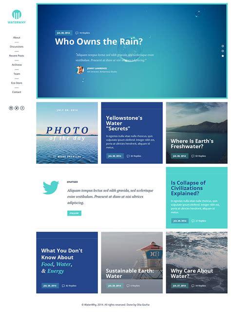 environmental ngo website template  psd  psd