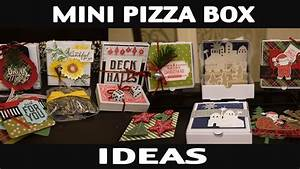 Stamping Jill - Mini Pizza Box Ideas - YouTube