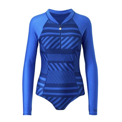 Long Sleeve Swimming Suit Womens Long Sleeve Swimsuit