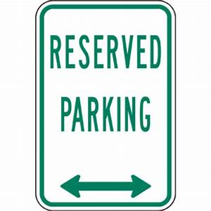 reserved parking sign clipart With reserved parking signs template