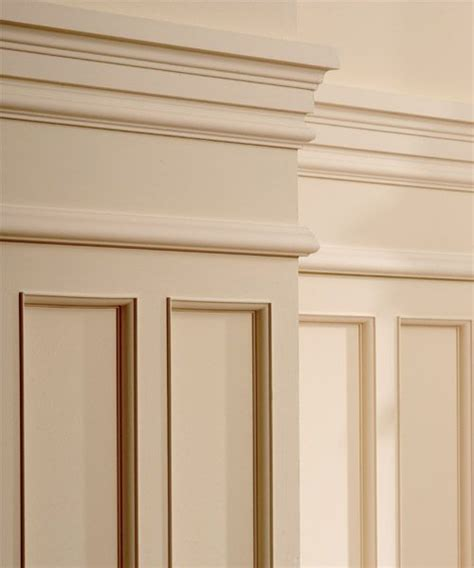 Trim For Wainscoting by Wainscot Crown Molding And Trim