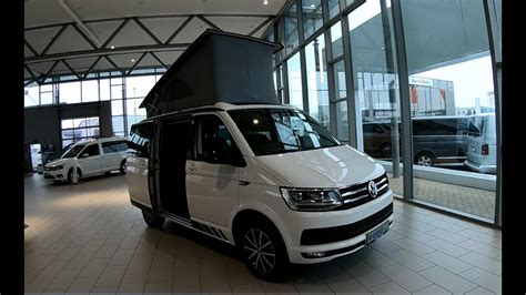 t6 california edition volkswagen vw t6 california edition walkaround interior white