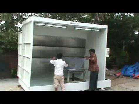 water spray booth part 1