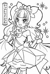 Coloring Pages Glitter Force Sheets Anime Precure Cure Princess Printable Twinkle Nsfw Activity Books Template Sailor Moon Cute Pretty Pop sketch template