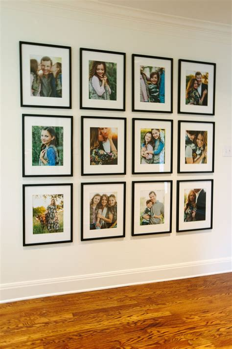family gallery wall  display family gallerywall