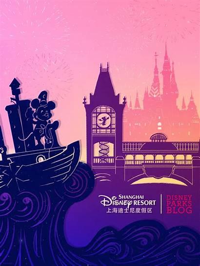 Disneyland Shanghai Disney Desktop Opening Ipad Wallpapers