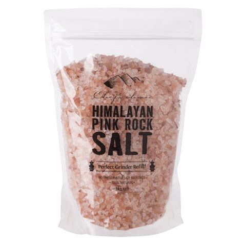 what is a salt rock l chef 39 s choice himalayan pink rock salt 1kg peter 39 s of