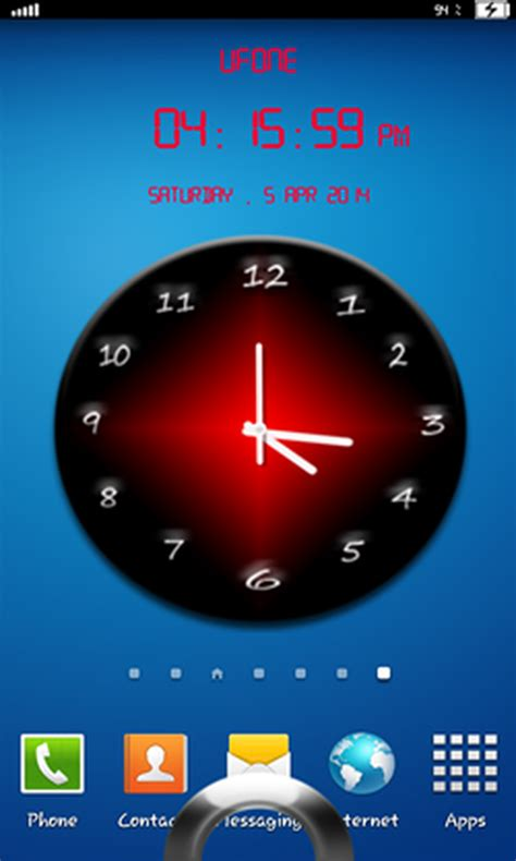 amazoncom analog clock lock screen appstore  android