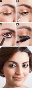 Maquillage Yeux Tuto : maquillage yeux marrons tuto le maquillage pour yeux marron 51 id es en photos et vid os nice ~ Nature-et-papiers.com Idées de Décoration