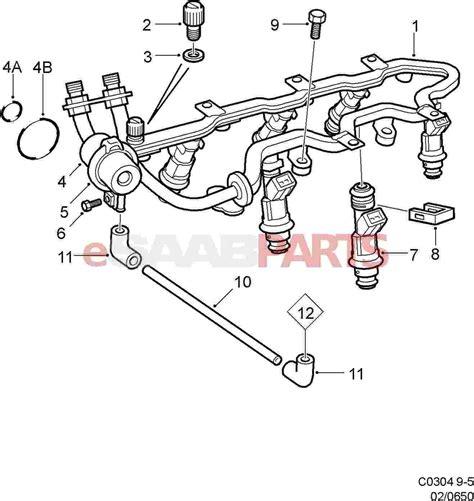 Saab Fuel Diagram by Esaabparts
