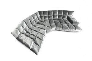 cloud 7 sofa upholstered in shimmering silver grey velour 17 best images about cloud 7 on upholstery