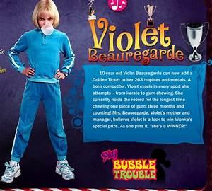 Violet's Biography - Violet Beauregarde Fan Site