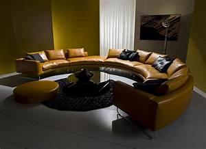 add look canape rond en cuir vente en ligne italy dream With tapis champ de fleurs avec canapé haut de gamme cuir