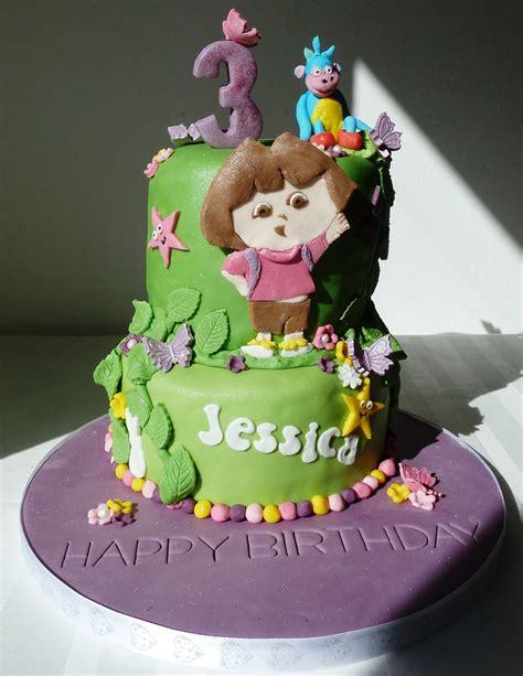 dora birthday cakes  girl wallpaper
