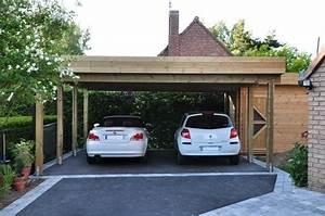 Faire Un Carport : carports 2 voitures sur mesure abri sur mesure ~ Premium-room.com Idées de Décoration