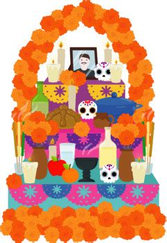 altar de muertos day   dead clipart  de muertos