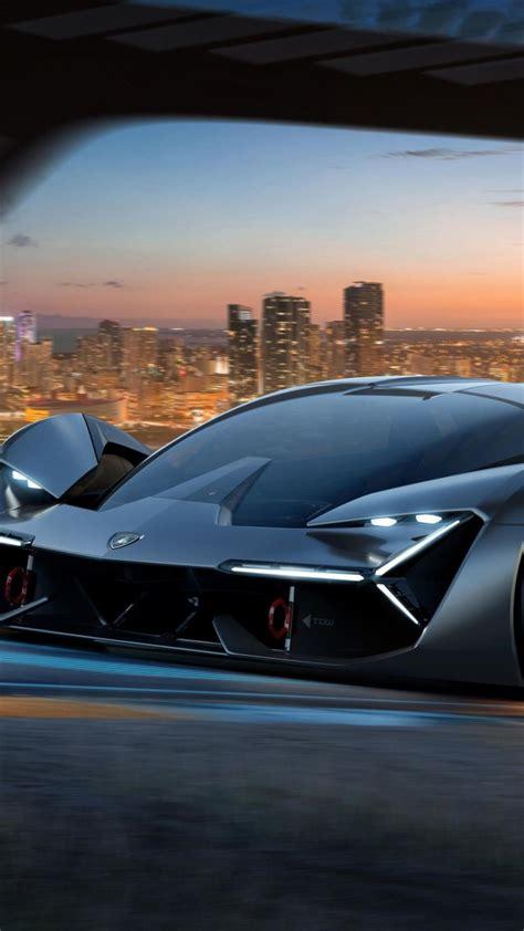 wallpaper lamborghini terzo millennio supercar  cars