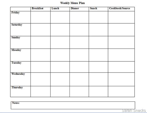 meal planner template google meal planner template docs planner template free