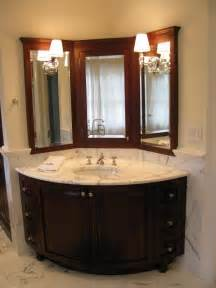perfect corner bathroom vanity set