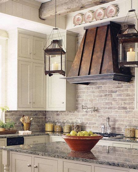 rustic chic kitchen ideas  pinterest country