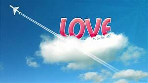 Free Best Pictures: Love In Sky Wallpapers