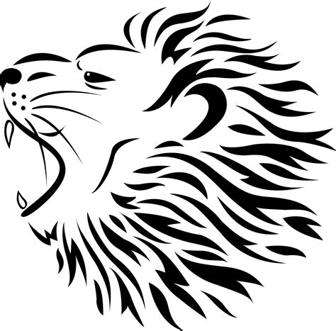 famous lion tattoo design sketches