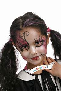 Maquillage Halloween Enfant Facile : un joli maquillage pour se transformer en la plus belle ~ Nature-et-papiers.com Idées de Décoration