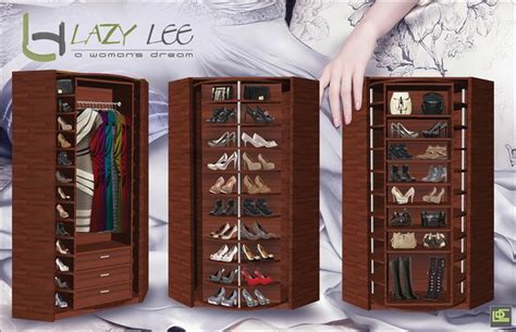 lazy susan for shoe storage master bedroom