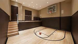 15 Ideas for Indoor Home Basketball Courts Home Design Lover