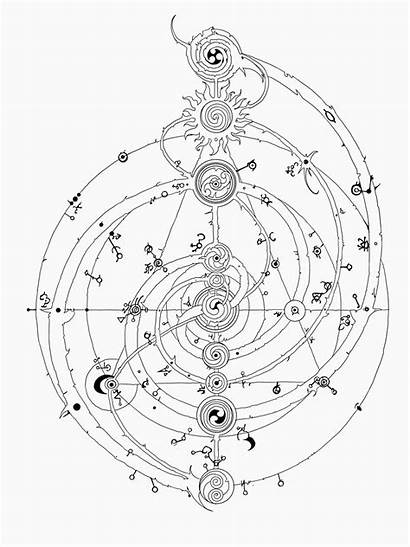 Crystal Dark Tattoo Symbols Geometry Sacred Redbubble