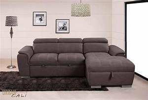 Urban, Cali, Fremont, Sleeper, Sectional, Sofa, Bed, Loveseat, With, Storage, Chaise