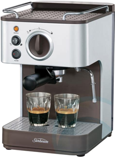sunbeam coffee machine em appliances