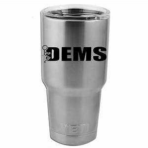 funny humping stick figure fck democrats vinyl sticker With kitchen colors with white cabinets with putting stickers on water bottles