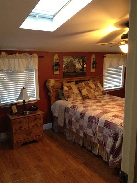 Top Graphic Of Primitive Bedroom  Patricia Woodard
