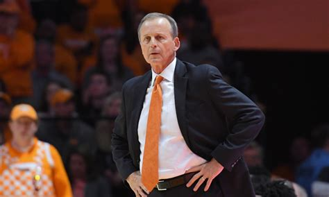 Rick Barns by Rick Barnes Would Be Shocked If Vols Are Looking Ahead
