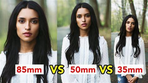 mm  mm  mm prime lens comparison video photo