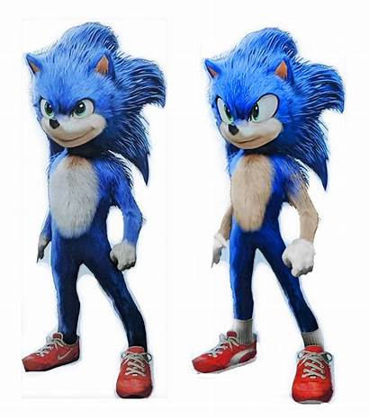 Sonic Film Hedgehog Action Redesigning Redesign Official