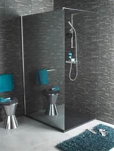 Miroir De Douche : la douche l 39 italienne le choix branch pour la salle de bains ~ Nature-et-papiers.com Idées de Décoration