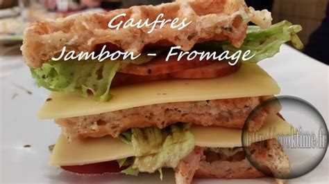 cuisiner avec le thermomix gaufres jambon fromage au thermomix cook