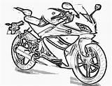 Coloring Motorcycle Pages Printable Print Police Motor Filminspector Getcolorings sketch template