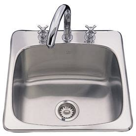 stainless steel utility sink lowes franke usa stainless steel above counter laundry sink