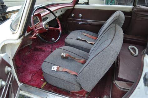 renault caravelle interior french barn find 1963 renault caravelle