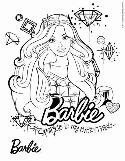 Barbie Colorear Coloring Dibujos Hellokids Pintar Dreamtopia
