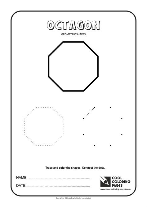 cool coloring pages geometric shapes cool coloring pages  educational coloring pages