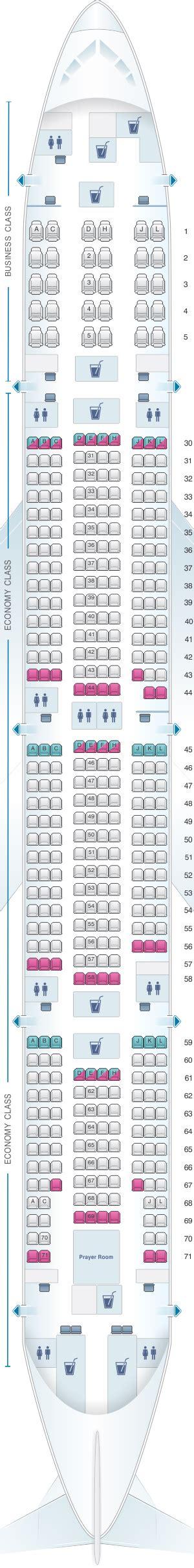 plan si es boeing 777 300er air plan de cabine saudi arabian airlines boeing b777 300er